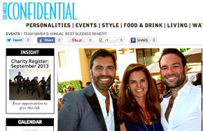 LA Confidential - Maria Shriver Best Buddies CA