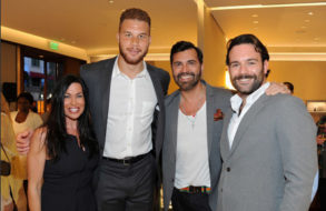 David Yurman Hosts An In-store Shopping Event To Celebrate The Launch Of Men's Faceted Metal Collection