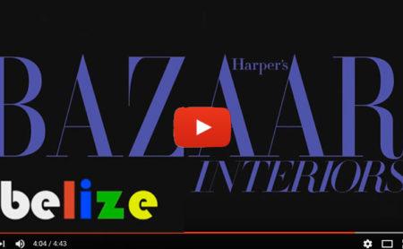HARPER'S BAZAAR INTERIORS May/June 2014 Issue : First Lady Kim Simplis' Belize